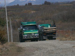 ダンプトラック部門
